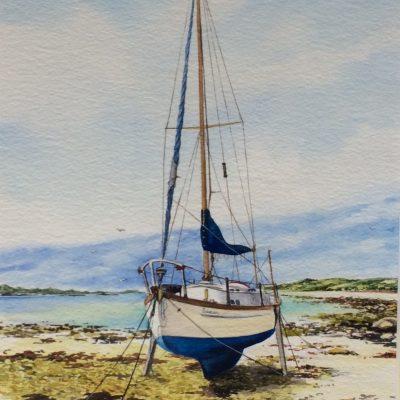 """""""Saxon"""", Old Quay Beach St Martins"""