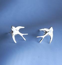 Scilly Swallows Stud Earrings